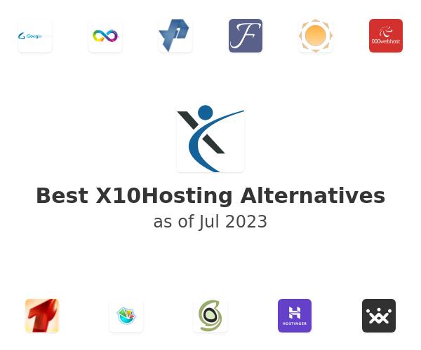 Best X10Hosting Alternatives