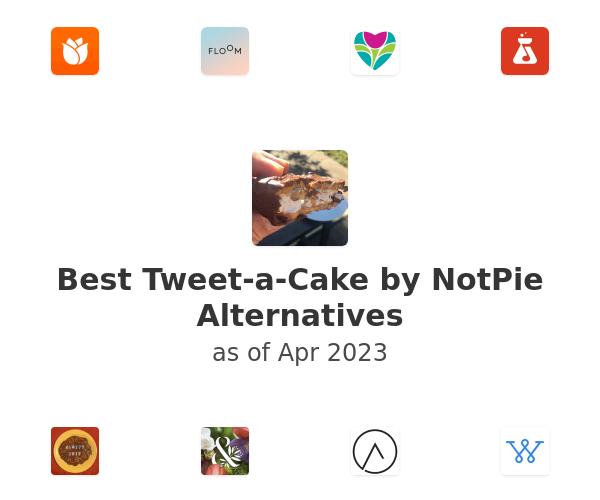 Best Tweet-a-Cake by NotPie Alternatives
