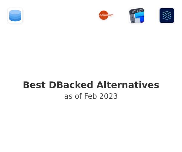 Best DBacked Alternatives