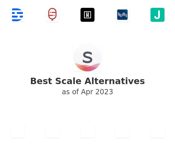 Best Scale Alternatives