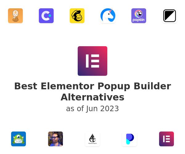 Best Elementor Popup Builder Alternatives