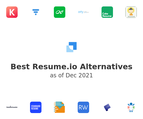 Best Resume.io Alternatives
