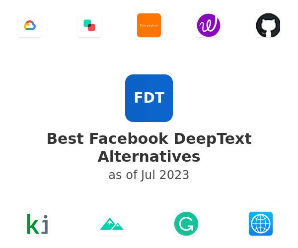 Best Facebook DeepText Alternatives