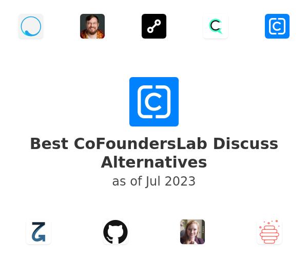 Best CoFoundersLab Discuss Alternatives