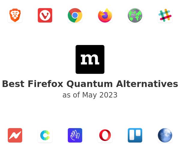 Best Firefox Quantum Alternatives