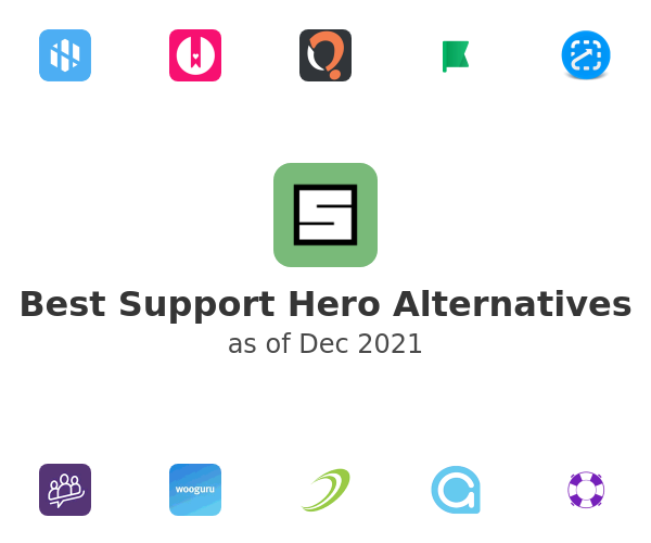 Best Support Hero Alternatives