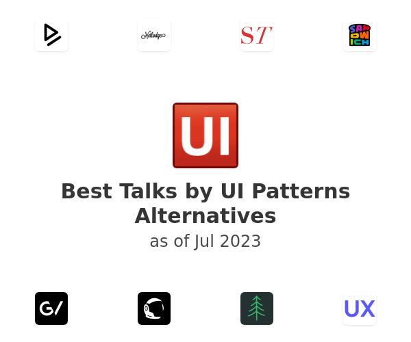 Best Talks by UI Patterns Alternatives