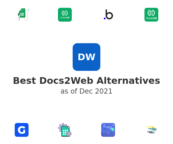 Best Docs2Web Alternatives