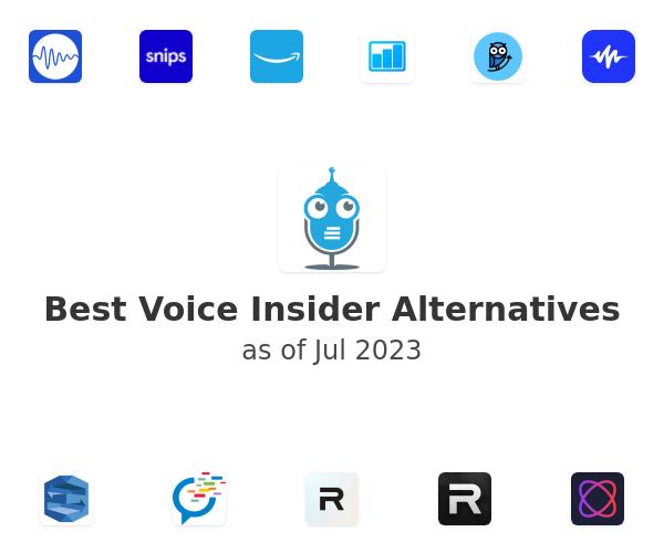 Best Voice Insider Alternatives