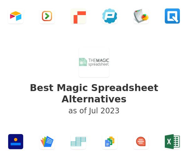 Best Magic Spreadsheet Alternatives