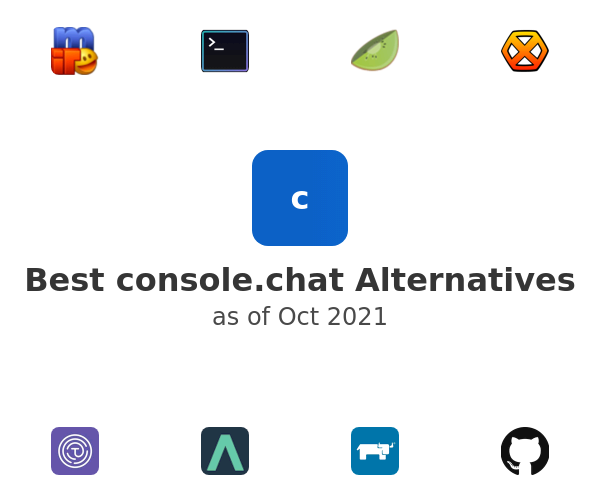 Best console.chat Alternatives