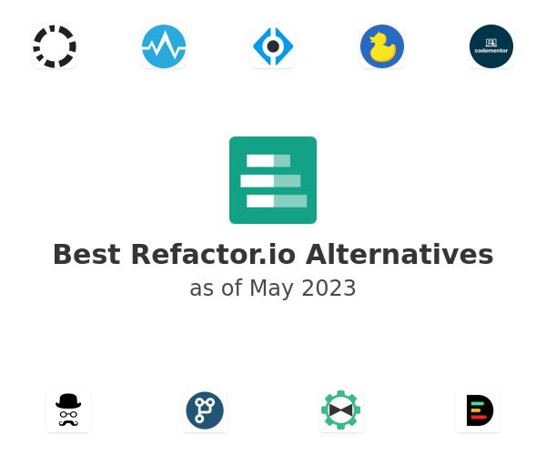 Best Refactor.io Alternatives
