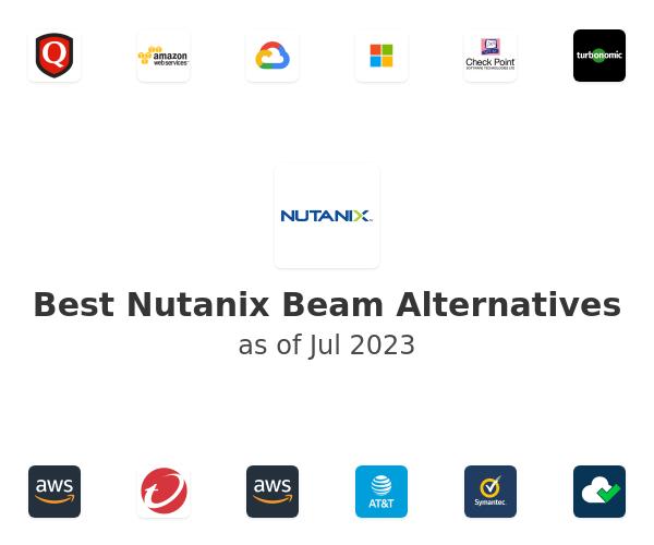 Best Nutanix Beam Alternatives