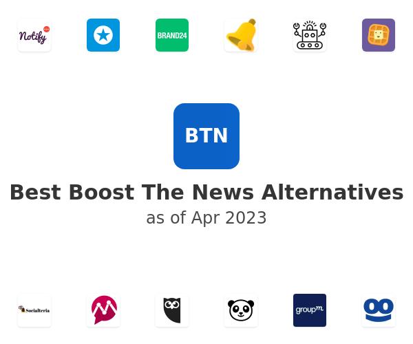 Best Boost The News Alternatives