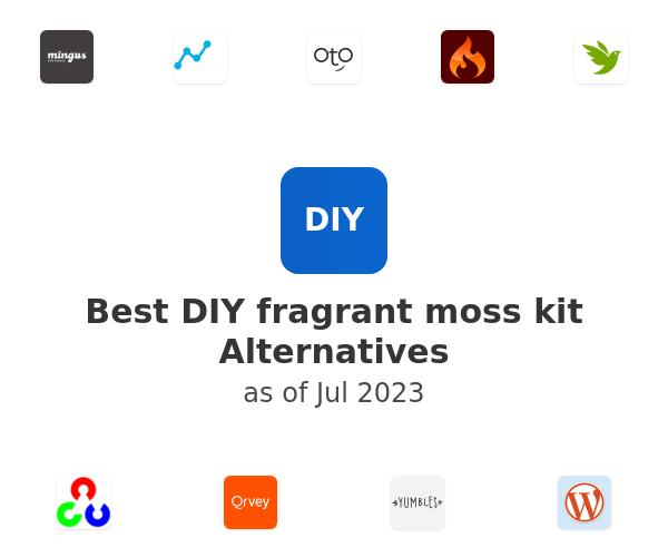 Best DIY fragrant moss kit Alternatives