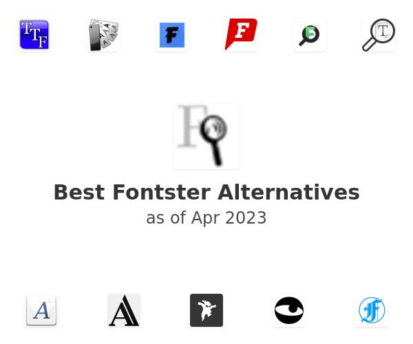 Best Fontster Alternatives
