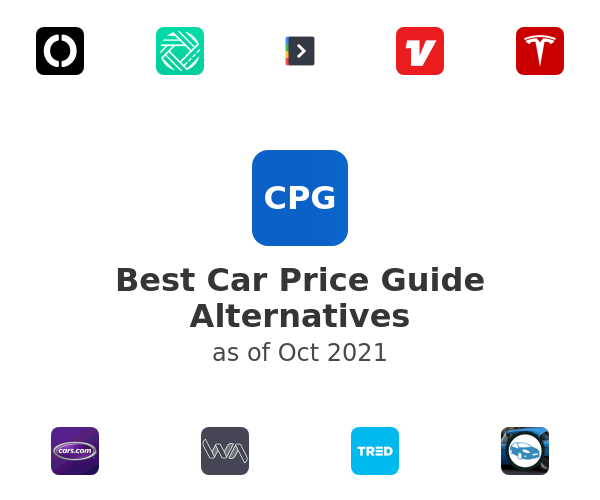 Best Car Price Guide Alternatives