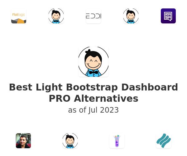 Best Light Bootstrap Dashboard PRO Alternatives