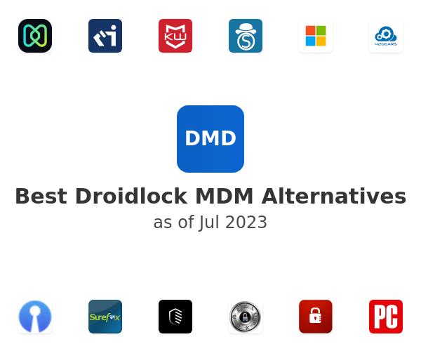 Best Droidlock MDM Alternatives