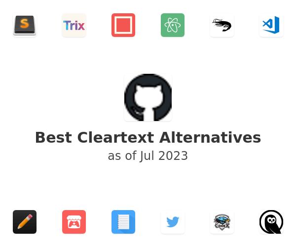 Best Cleartext Alternatives