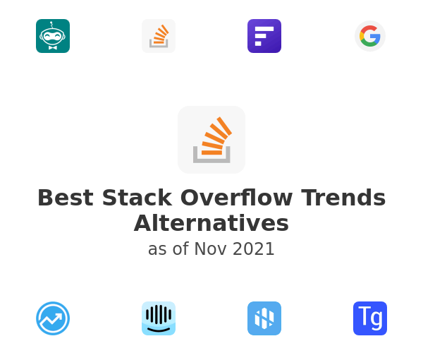 Best Stack Overflow Trends Alternatives