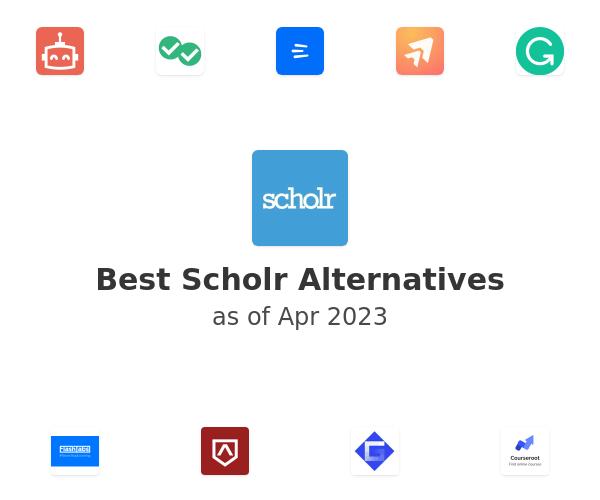 Best Scholr Alternatives