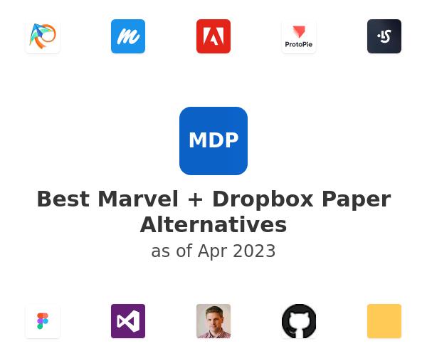 Best Marvel + Dropbox Paper Alternatives