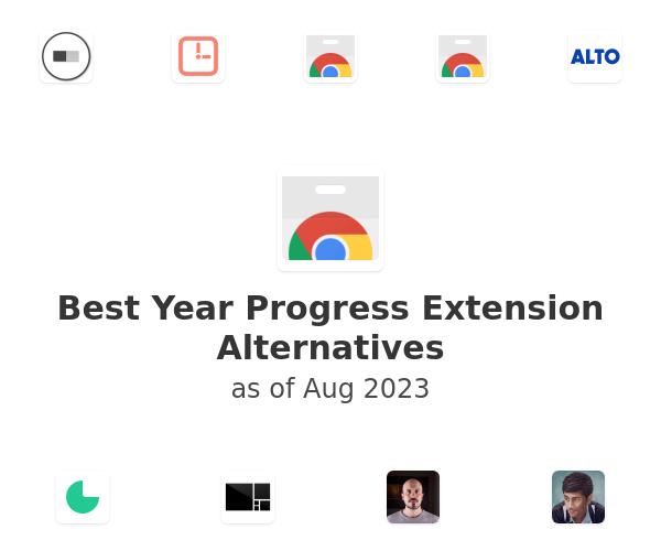 Best Year Progress Alternatives