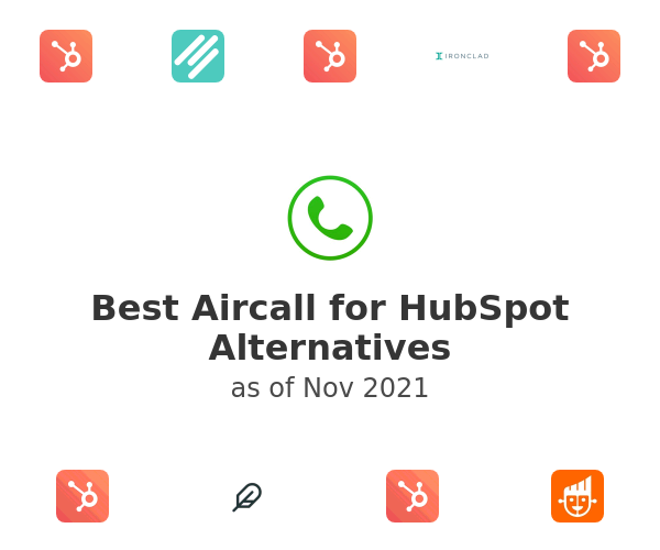 Best Aircall for HubSpot Alternatives