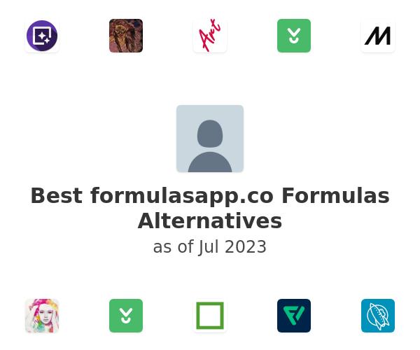 Best formulasapp.co Formulas Alternatives