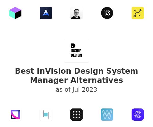 Best InVision Design System Manager Alternatives