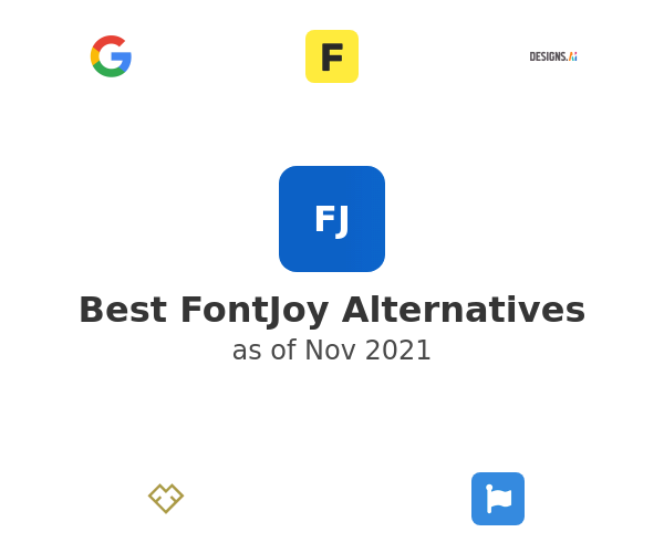 Best FontJoy Alternatives