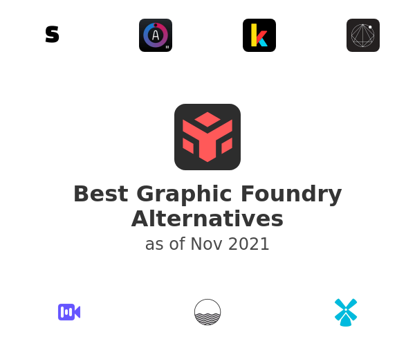 Best Graphic Foundry Alternatives