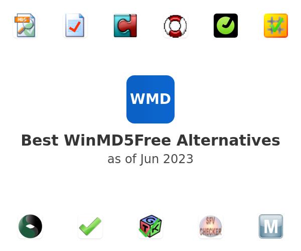 Best WinMD5Free Alternatives