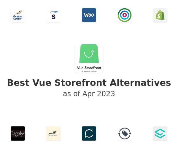 Best Vue Storefront Alternatives