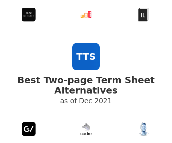 Best Two-page Term Sheet Alternatives
