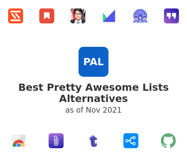 Best Pretty Awesome Lists Alternatives