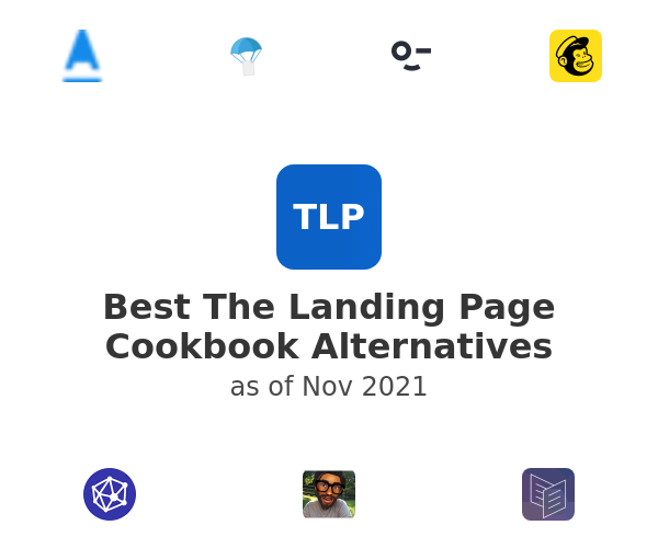 Best The Landing Page Cookbook Alternatives