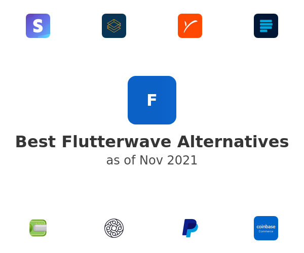 Best Flutterwave Alternatives