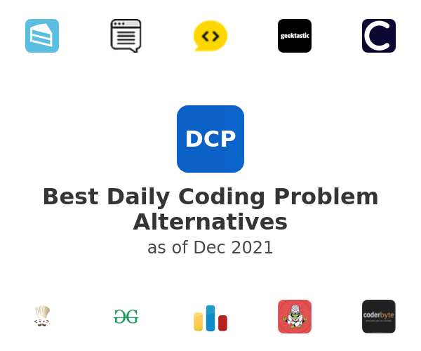 Best Daily Coding Problem Alternatives