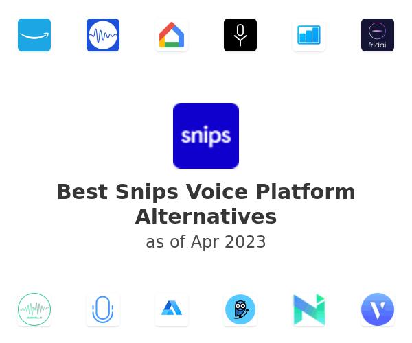 Best Snips Voice Platform Alternatives