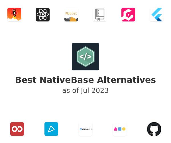 Best NativeBase Alternatives