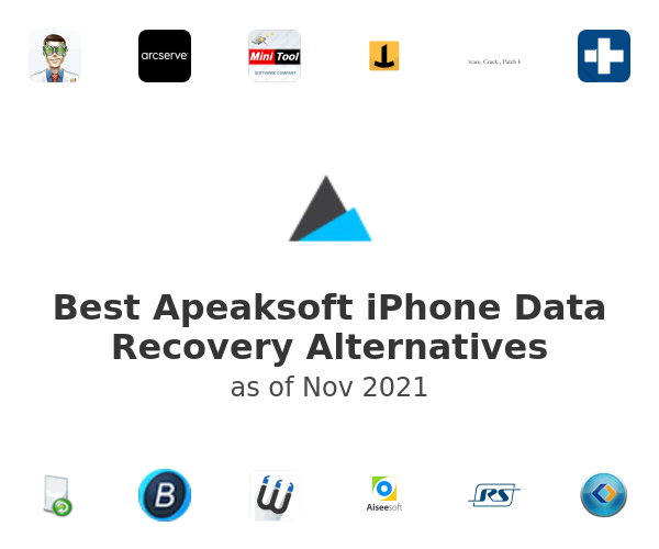 Best Apeaksoft iPhone Data Recovery Alternatives