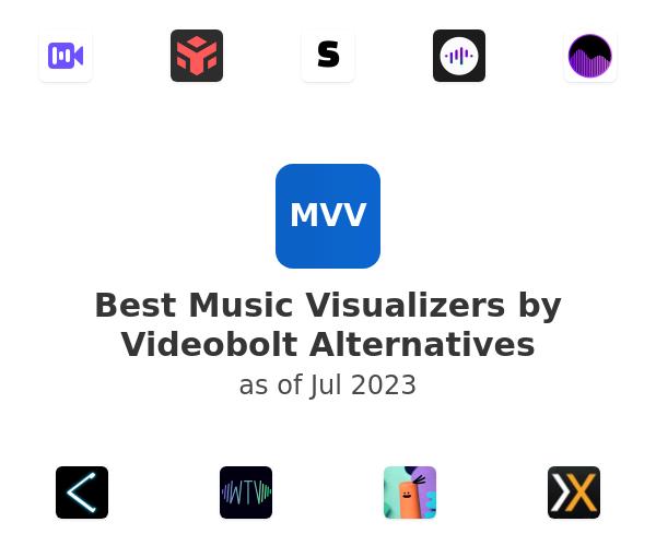 Best Music Visualizers by Videobolt Alternatives