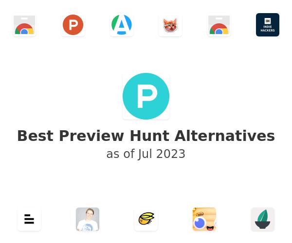 Best Preview Hunt Alternatives