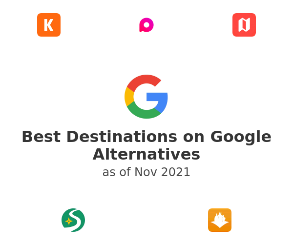 Best Destinations on Google Alternatives