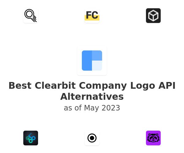 Best Clearbit Company Logo API Alternatives
