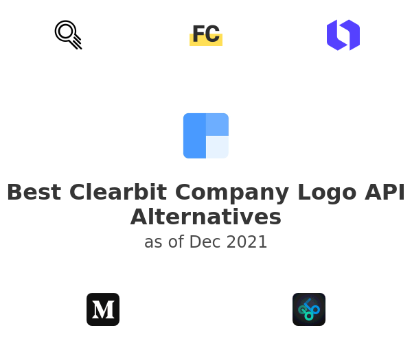 Best Clearbit Company Logo API Alternatives