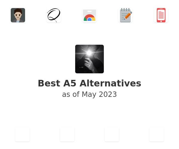 Best A5 Alternatives