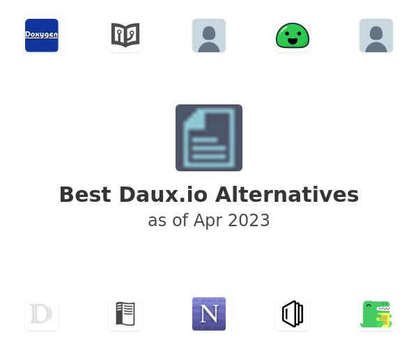 Best Daux.io Alternatives